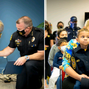 A Five-Year-Old With Cancer Has Been Granted His Wish Of Becoming A police Officer On His Birthday