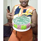 Bbnaija: PHOTOS of a Beautiful Lady from Sierra Leone That Prepared Cake for Laycon to Win The Money