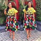 Make Yourself Noticeable And Outstanding In Your Next Occasion With These Beautiful Ankara Styles