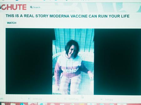 Disturbing Video Of Woman Allegedly Vaccinated With The Covid-19 vaccine That Totally Transformed Her Body
