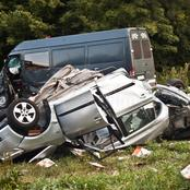 Sad: Another deadly accident claims 3 lives,13 others injured at Assin Nyankomase-Me sre Nyame road.