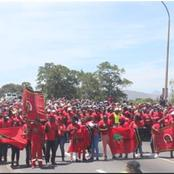 Opinion: EFF Painted Capetown Streets Red For Service Delivery.