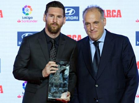 LaLiga President sends message to Messi