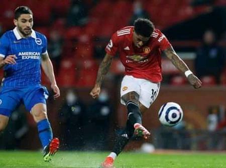 The incredible Manchester United record Marcus Rashford has broken tonight