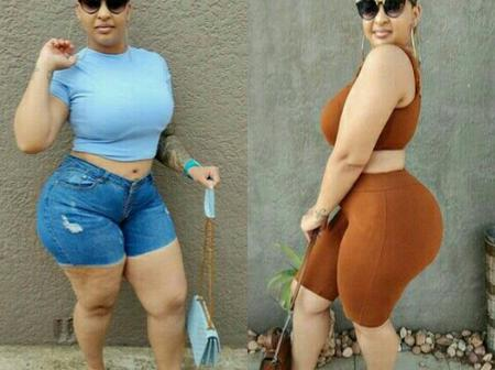 Top 15 Lovely Photos Of A Gorgeous & Curvy SA Influencer, 'Eldine Lewis'.