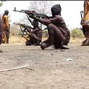 Photos of Children being trained by Boko Haram