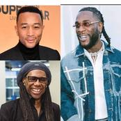 Apart From Justin Bieber, See 2 Other Grammy Award Winners Having A Track With Burna Boy (Photos)