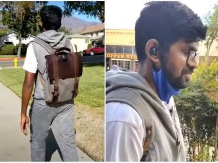 Newly Developed Backpack Allows The Blind To Walk Alone In The Street [Video]
