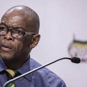 Mahashule isn't ready to go down alone yet, as he is planning to bring the ANC with him
