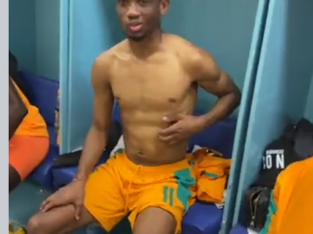 Amad diallo was caught twerking after ivory coast qualification
