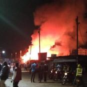 Just In: Fire Razes Down Two Shops in Luanda Vihiga County