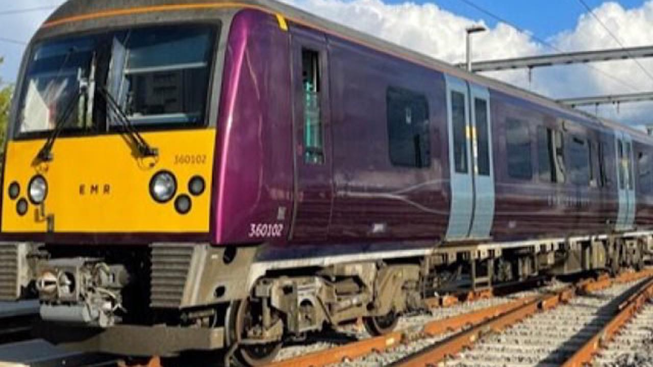 Major East Midlands timetable changes to come into force on 16 May
