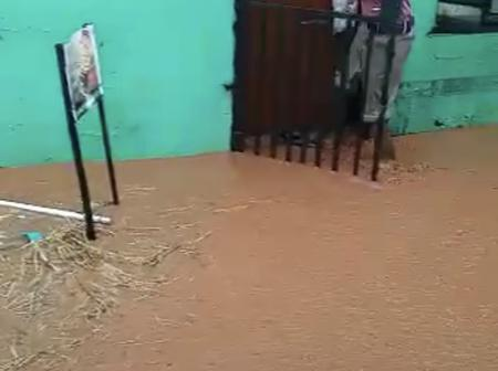 Complex is destroyed by heavy rain and floods around Venda