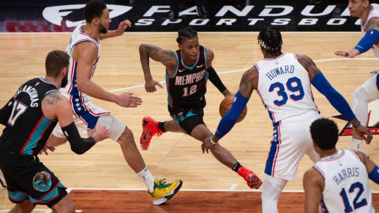Basketball: Ja Morant returns as Grizzlies bear down on 76ers