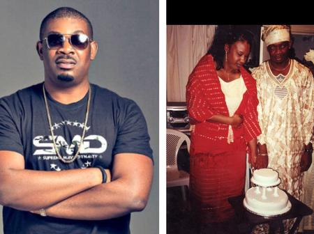 Fans React After Don Jazzy Releases Photos Of Himself And His Ex Wife