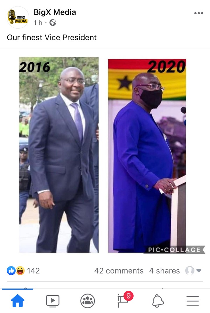 """f6b8aae372e8d8790d544cc92fe6320f?quality=uhq&resize=720 - """"Their Bellies Are Full & The Youths Are Hungry"""" - Ghanaians React To A 2016 & 2020 Photo Of Dr. Bawumia (Photo)"""
