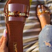 Classic sandals that will cost you KSH 300