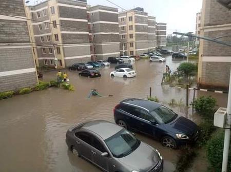 Tunawatumia Boats, Kenyans React After This Flood Photos Emerged