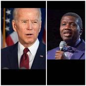 Pastor Adeboye prophecy is fulfilled as Joe Biden becomes the President of America