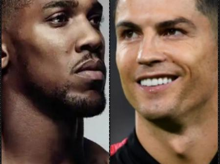 Between C Ronaldo And Anthony Joshua: Who Is Richer?