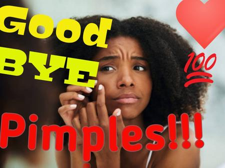 Here Are 3 Key Things You Need To Do To Get Rid Of Pimples.