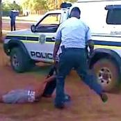 Cop beats up 2 school boys and force them to drink petrol