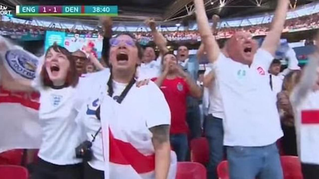 England fan sacked for pulling sickie to go to Wembley as boss spots her in crowd