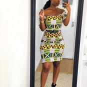 Christmas Is Near, Any Of These 18 Ankara Short Gowns Can Make You Look Glorious