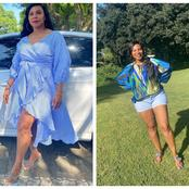 See beautiful pictures of Penny Lebyane that got people talking on social media.