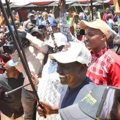 DP Ruto Pulls Huge Crowd In A Special Mission In Narok County (photos)