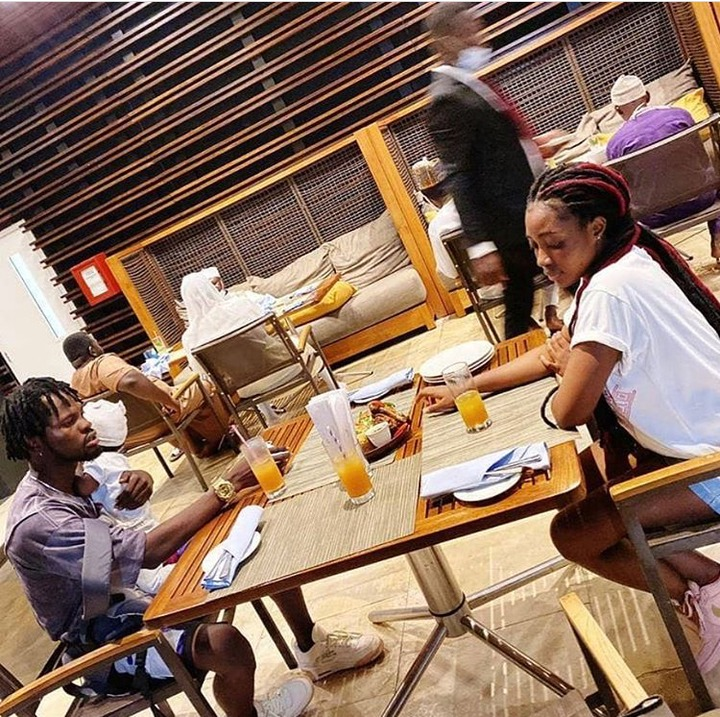 f6f0b58a7f2eb86f71911e4cee64cdc2?quality=uhq&resize=720 - This Photo Of Fameye Having A Good Time With His Beautiful Baby Mama And Son Causes Stir (Photo)
