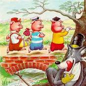 The real story behind the three little pigs story