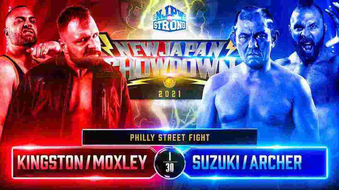 NJPW New Japan Showdown : Jon Moxley et Eddie Kingston retrouveront Minoru Suzuki et Lance Archer