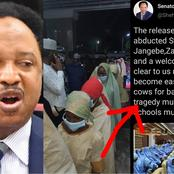 Read What Shehu Sani Said After School Girls Were Released And How People Reacted