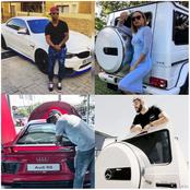 See the top 10 SA celebrities who drive the most expensive cars