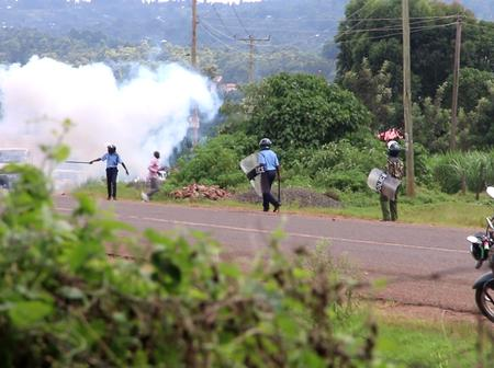 Kisii Police engage rowdy residents in running battles