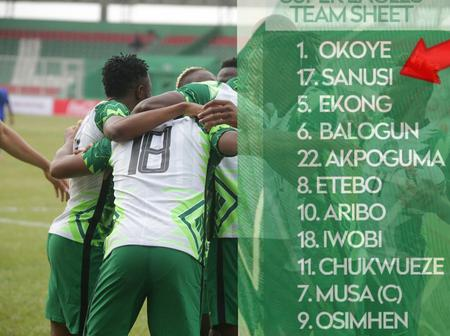 Zaidu Sanusi: 6 facts about the 23 years old leftback who started for Nigeria against Sierra Leone
