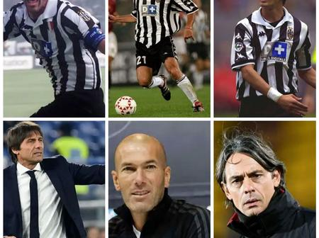 Meet Former Juventus Players Who Are Managers This Season