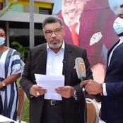 Plateau:  Le candidat indépendant Hamed Koffi Zarour  donne les raisons de son retrait de la course.