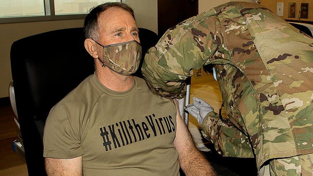 US troops in South Korea begin receiving COVID-19 vaccinations