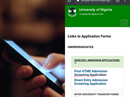 Here's how to apply for UNN Post UTME with your phone
