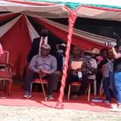 Girl From Meru Reveals Her Life Touching Story To Ruto