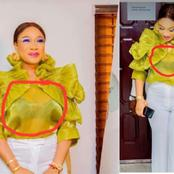 See What Tonto Dikeh Wore For An Official Visit That Got People Talking