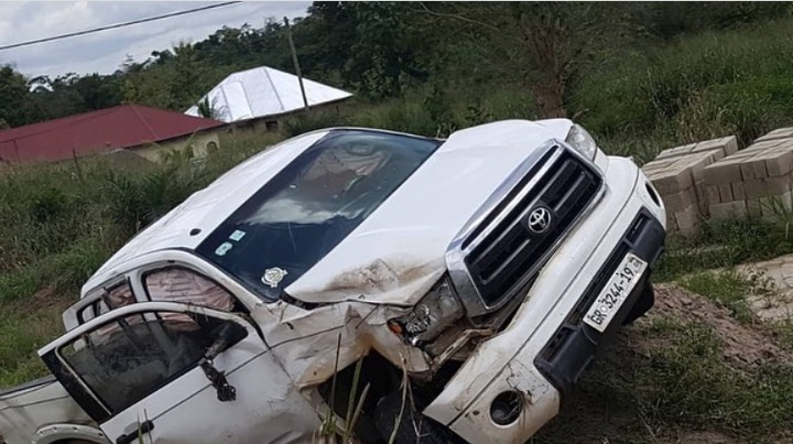 f73f3f1370344d5c888eec013045c7f1?quality=uhq&resize=720 - Sad: Gospel Musician, Yaw Sarpong Involved In A Car Accident (Photos)