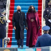 See The Dress Michelle Obama Wore To Biden's Inauguration That Has Got People Talking [Pictures]