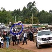 Uhuru Receives 'Cold Reception' In His Own Backyard (Photos)