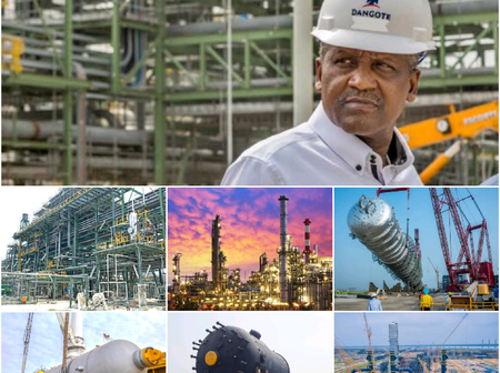 Project Work On Dangote Refinery And How Many Jobs It's Estimated To Create [Photos].
