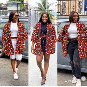 Checkout These Fabulous Ankara Kimono Styles (Photos)