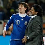 Le FC Barcelone sanctionné de 3000 euros d'amende à cause de l'hommage de Messi à Maradona