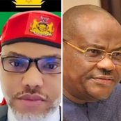 Nnamdi Kanu threatens Governor Wike in his tweet, see what he said